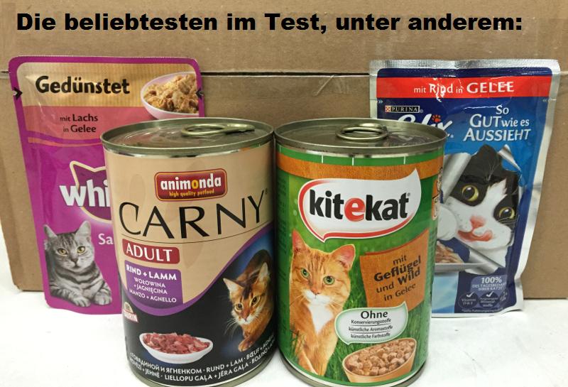 Katzenfutter Test Nassfutter 2021