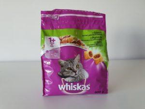 Katzenfutter Nahrung Trocken Whiskas